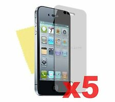 5 X Delantero Mate Anti Glare LCD pantalla protector Protector Para Apple Iphone 4/4g/4s