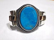 Unique Turquoise Stone 925 K Sterling Silver Mens Ring All size
