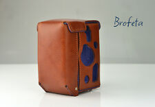 Brofeta Italy Rolleiflex 2.8FX leather case/bag,camera bag/case Handmade.