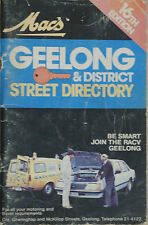 MAC'S GEELONG & DISTRICT STREET DIRECTORY 16th Edition
