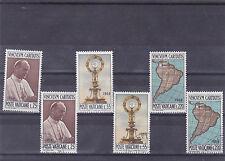 Vatikan MiNr. 538-540 postfrisch und gestempelt, 39. Eucharistischer Weltkongreß