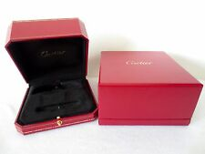 New Model Cartier Presentation Love Bracelet Box Red Box