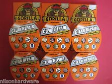 6-Gorilla Tape Vinyl Patch Inflatable Underwater Wet Dry Repair Surface Pool Toy