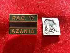 Political   pins  badges  PAC AZANIA