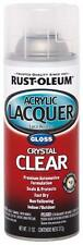 Rust-Oleum 253366 Autiomotive Acrylic Lacquer Spray Paint - Clear Gloss
