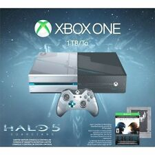 NEW! Xbox One 1TB Console - Limited Edition Halo 5: Guardians Bundle.    86363