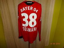 Bayer 04 Leverkusen Adidas Langarm Matchworn Trikot 08/09 + Nr.38 Selmani Gr.XL