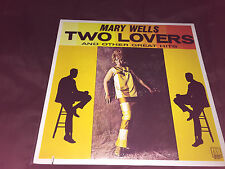 """Mary Wells """"Two lovers"""" Classic Soul R&B Motown Records LP VG CONDITION VINYL"""