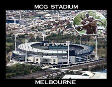 Australia - Melbourne - MCG STADIUM - Flexible Fridge Magnet