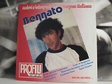 EDOARDO BENNATO - PROFILI MUSICALI LP COME NUOVO + INSERTO // COVER EX