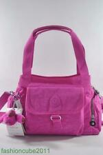 New With Tag KIPLING FAIRFAX MEDIUM SHOULDER AND CROSSBODY BAG - Breezy Pink