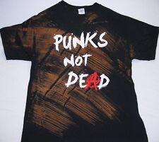 Punks Not Dead - Batik - Funshirt - T-Shirt - Größe Size L - Neu