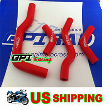 silicone radiator hose kit FOR Honda CRF450X 2005-2013 2011 2010 2009 2008 ,RED