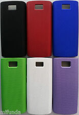 PARA NOKIA X3-02 CARCASA FUNDA DURA SEMI PERFORADA BACK SNAP-ON HARD CASE