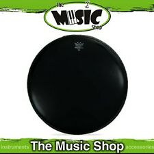 "Remo 16"" Powerstroke 3 Ebony Bass Drum Skin with Black Dynamo - P3-1016-ES"