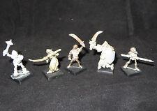 Warhammer   Vampire Counts Skeletons army lot metal oop rogue trader era 5