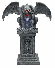 Halloween LifeSize Animated STONE GARGOYLE WITH SOUND/LIGHTS Prop Haunted House