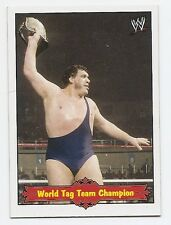 2012 TOPPS WWE HERITAGE ANDRE THE GIANT TRIBUTE #10