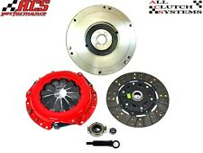 ACS STAGE 2 CLUTCH KIT+HD CAST FLYWHEEL 93-97 TOYOTA COROLLA 1.6L 1.8L GEO PRIZM