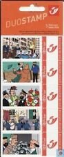 TINTIN 2005 5 TIMBRES 5 STAMPS Feest Party Fête Fest Hergé ! VERY RARE !