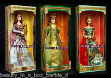 Bard Barbie Doll Spellbound Lover Faerie Queen Legends of Ireland Irish CK Lot 3