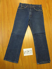 Vintage levi's 517 boot cut REPAIRED Irregular tag 34x30 de in the USA V5757