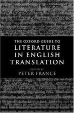 The Oxford Guide to Literature in English Translation