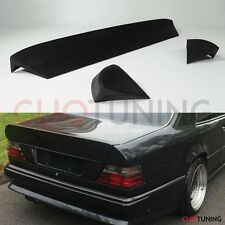 Mercedes Benz w124 coupe AMG style trunk spoiler 3 piece bootlip ducktail mb 2d