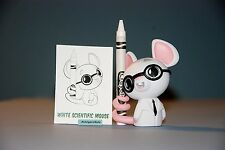 Crayola Coloring Critter Series Kidrobot White Scientific Mouse 1/40 Rarity