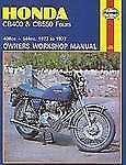 Owners' Workshop Manual: Honda CB400 and CB550 Fours, 1973 1977 No. M262 by...