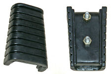 Yamaha VMX1200 V-Max footrest rubbers - front (1989-2001) new, fast despatch