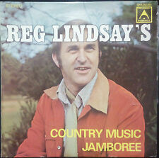 REG LINDSAY - COUNTRY MUSIC JAMBOREE VINYL LP AUSTRALIA #2