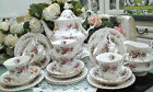 ROYAL ALBERT ' LAVENDER ROSE ' ENGLISH BONE CHINA TEA & DINNER SERVICE
