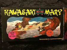 "AVIATION USK 1/72 KAWASAKI KI-32 ""MARY"" --RARE JAPANESE LIGHT BOMBER !!"