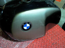 BMW Silver Smoke flip up cap dented 1974-76 R90S TwinSHOCK Gas FUEL TANK  R100S