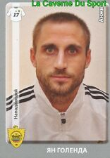 076 JAN HOLENDA REP.CZECH FK.ANZHI MAKHACHKALA STICKER PANINI RUSSIA LEAGUE 2012