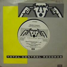 "Mark Fisher(7"" Vinyl P/S)Love Situation-Total Control-TOCO 3-UK-Ex-/VG+"