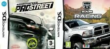 Need For Speed: ProStreet & ram racing    new&sealed