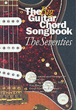 The Big Guitar Chord Songbook The Seventies Sheet Music Book Hollies Jam S09
