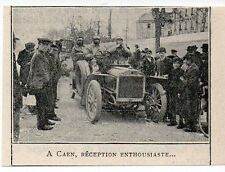 1905  --  CAEN RECEPTION TOUR DE FRANCE AUTO  J017