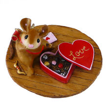 HOW SWEET IT IS! by Wee Forest Folk, WFF# M-477a, Cute Cupid Mouse