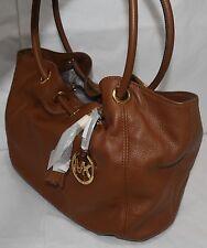 MICHAEL KORS Med EW Ring Tote, Shoulder Bag, 35S3GRTT6L, Brown Leather, $298