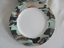 Pagnossin Ironstone #9104 Italy -Multi-Color Abstract -Salad Plate(s)- 6 Avail