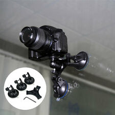 Triple Suction Cup Mount Low Angle Holder For Gopro HD Hero 2/3/3+/4 Camera