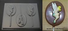 TINKERBELL on OVAL Lollipop Chocolate Candy Soap Mold