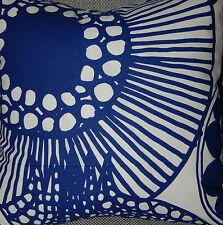 Marimekko Finland Siirtolapuutarha pillow cushion case cover handmade, 18""