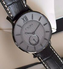 New N.O.A. Slim 18.60 MSLQ-011 Gray Dial Swiss Quartz Watch. Box & Papers