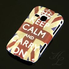 Samsung Galaxy Mini 2 / S6500 Hard Case Handy Hülle Etui Keep Calm Carry On