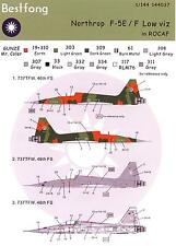 Bestfong Decals 1/144 NORTHROP F-5E/F FREEDOM FIGHTER Low Viz ROCAF