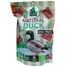Plato Natural Duck Dog Treats (16 oz)